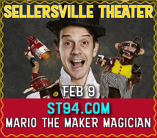 FAMILY: MARIO THE MAKER MAGICIAN in Sellersville Theater 1894